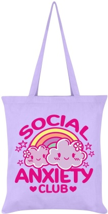 Social Anxiety Club - Lilac Tote Bag
