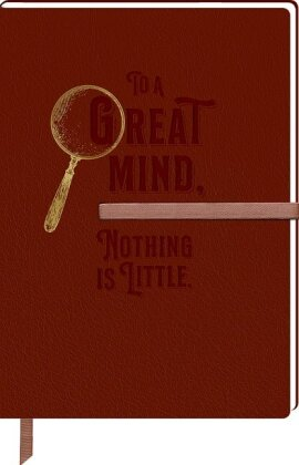 Sherlock Holmes - Notizbuch DIN A5