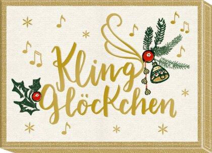 Botschaften-Schachteln - Wunderbare Weihnachtszeit