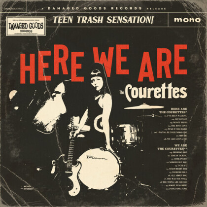 Courettes - Here Are The Courettes (2021 Reissue, Damaged Goods)