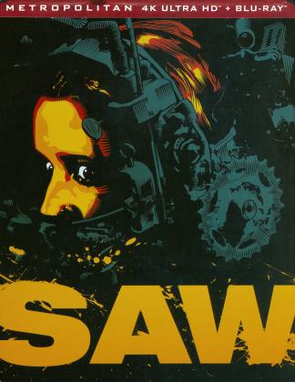 Saw (2004) (Director's Cut, Limited Edition, Steelbook, 4K Ultra HD + Blu-ray)