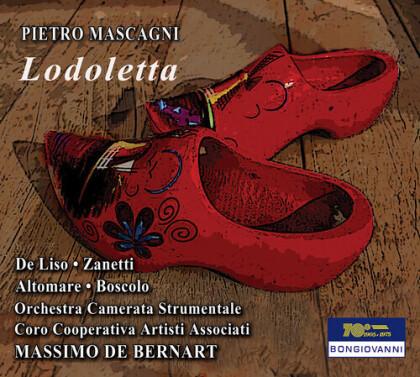 Pietro Mascagni (1863-1945), Massimo de Bernart & Orchestra Camerata Stumentale - Lodoletta (2 CDs)