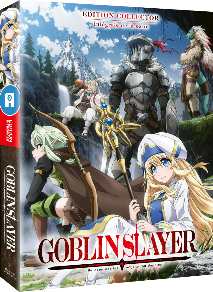 Goblin Slayer - Intégrale de la série (Édition Collector, Mediabook, 2 DVD)