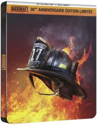 Backdraft (1991) (30th Anniversary Edition, Limited Edition, Steelbook, 4K Ultra HD + Blu-ray)