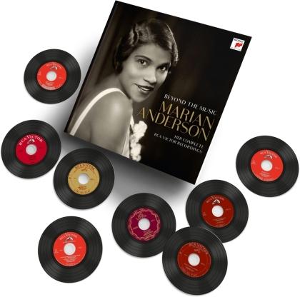 Johannes Brahms (1833-1897), Franz Schubert (1797-1828), Gustav Mahler (1860-1911), Robert Schumann (1810-1856), +, … - Marian Anderson - Beyond the Music (15 CDs)