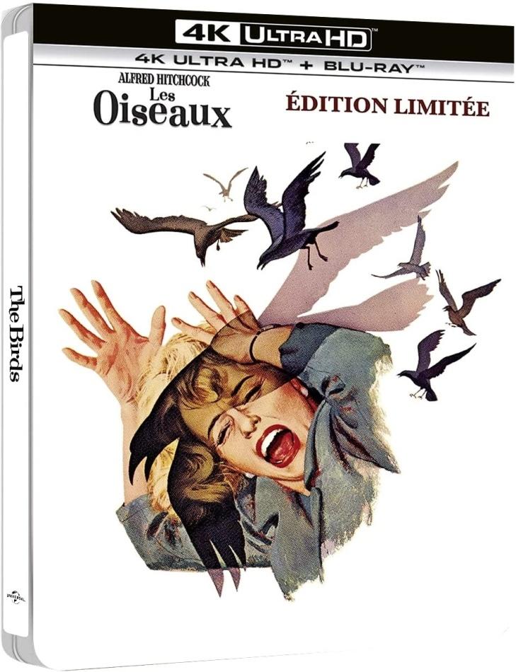Les oiseaux (1963) (Edizione Limitata, Steelbook, 4K Ultra HD + Blu-ray)