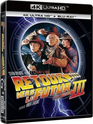 Retour vers le futur 3 (1990) (4K Ultra HD + Blu-ray)