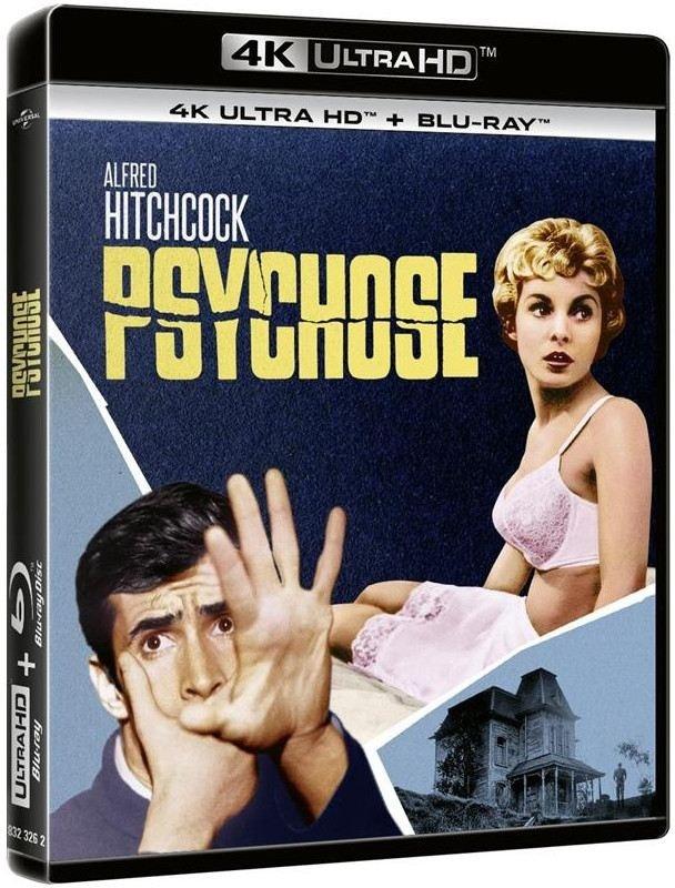 Psychose (1960) (4K Ultra HD + Blu-ray)