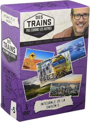 Des trains pas comme les autres - Saison 5 (5 DVDs)