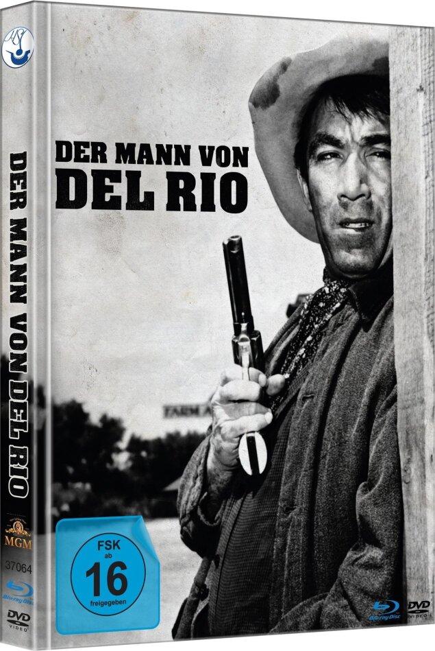 Der Mann von Del Rio (1956) (Limited Edition, Mediabook, Blu-ray + DVD)