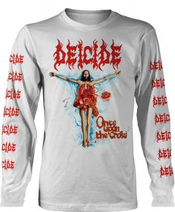 Deicide - Once Upon The Cross (White)
