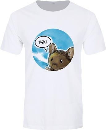 Cute But Abusive Mouse: Tosser - Men's Premium T-Shirt
