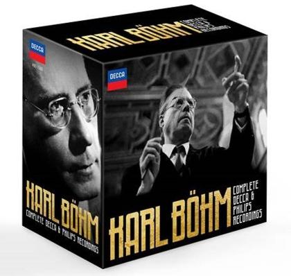 Karl Böhm - Complete Decca & Philips Recordings (Limitiert, 38 CDs + Blu-ray)