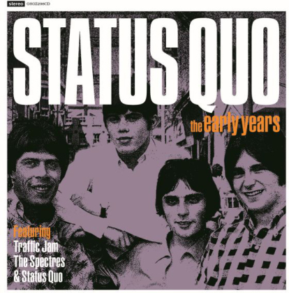 Status Quo - Early Years (Greyscale Label)