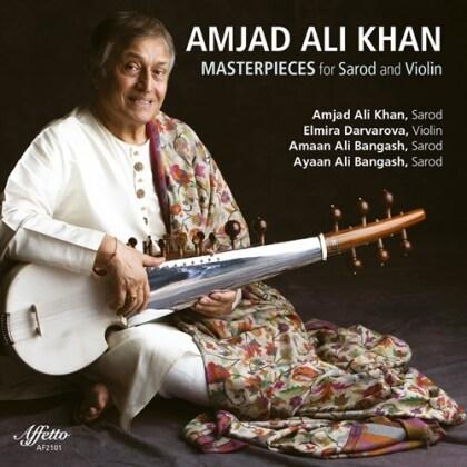 Amjad Ali Khan, Elmira Darvarova, Amaan Ali Bangash & Ayaan Ali Bangash - Masterpieces For Sarod (2 CDs)