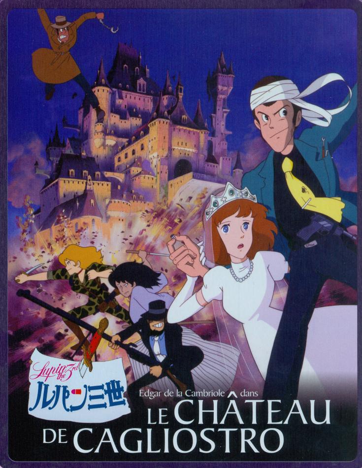 Le château de Cagliostro (1979) (Limited Edition, Steelbook, Blu-ray + DVD)