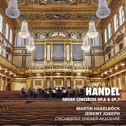 Georg Friedrich Händel (1685-1759), Jeremy Joseph, Martin Haselböck & Orchester Wiener Akademie - Organ Concertos 4 & 7
