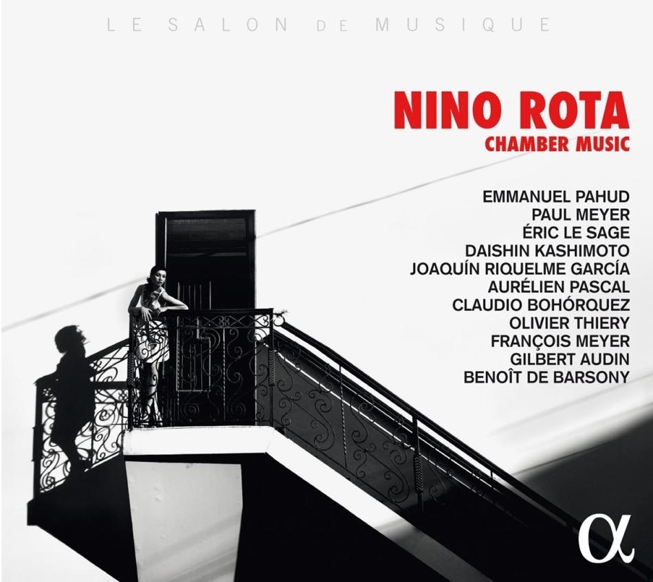 Nino Rota (1911-1979), Emmanuel Pahud, François Meyer, Gilbert Audin, Daishin Kashimoto, … - Chamber Music