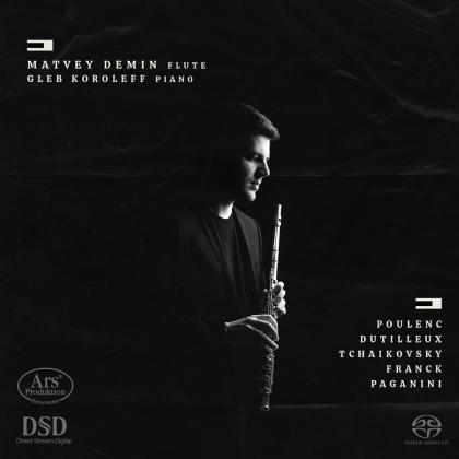 Francis Poulenc (1899-1963), Henri Dutilleux (1916-2013), Peter Iljitsch Tschaikowsky (1840-1893), César Franck (1822-1890), Niccolo Paganini (1782-1840), … - Flute & Piano Works (Hybrid SACD)
