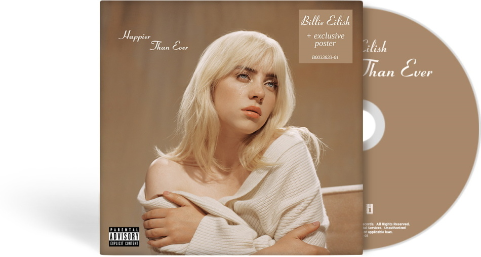 Billie Eilish - Happier Than Ever (CH Exclusive, Limited Edition)