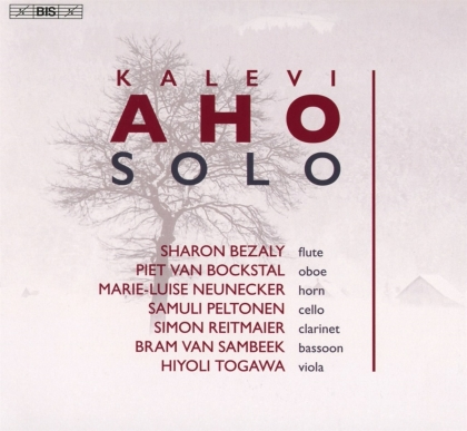 Kalevi Aho (*1949), Sharon Bezaly, Piet Van Bockstal, Simon Reitmaier, Bram van Sambeek, … - Solo 1 (Hybrid SACD)