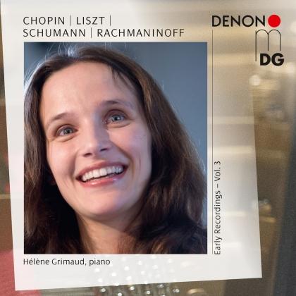 Franz Liszt (1811-1886), Robert Schumann (1810-1856), Sergej Rachmaninoff (1873-1943), Frédéric Chopin (1810-1849) & Hélène Grimaud - Early Recordings 3 (2 CDs)
