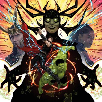 Mark Mothersbaugh - Thor - Ragnarok - OST (2021 Reissue, Mondo, Colored, 2 LPs)
