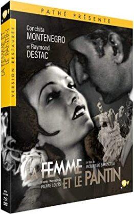 La femme et le pantin (1929) (Restaurierte Fassung, Blu-ray + DVD)