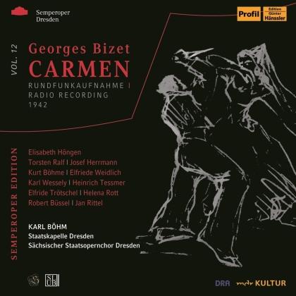 Georges Bizet (1838-1875), Karl Böhm, Elisabeth Höngen & Staatskapelle Dresden - Carmen - Radio Recording 1942