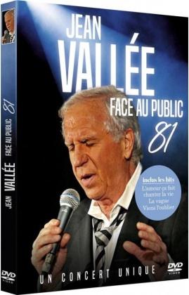 Jean Vallée - Face au public - Concert 1981