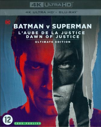 Batman v Superman - L'Aube de la Justice (2016) (Neuauflage, Ultimate Edition, 4K Ultra HD + Blu-ray)