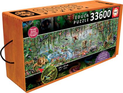 Tier- und Pflanzenwelt (Puzzle)