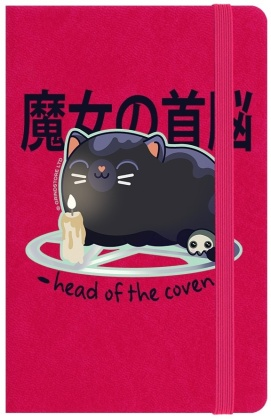 Kawaii Coven: Head of the Coven - A6 Notebook