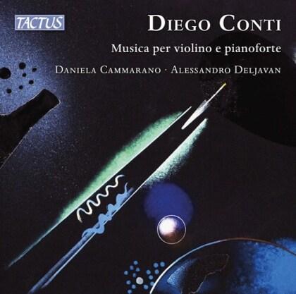 Diego Conti (*1958), Daniela Cammarano & Alessandro Deljavan - Musica Per Violino E Pianofort