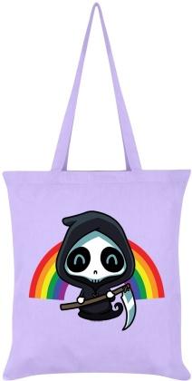 Rainbow Reaper - Lilac Tote Bag