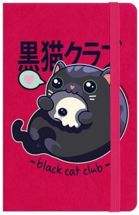 Kawaii Coven: Black Cat Club - A6 Notebook