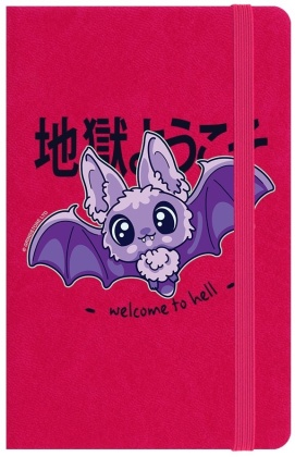 Kawaii Coven: Welcome to Hell - A6 Notebook
