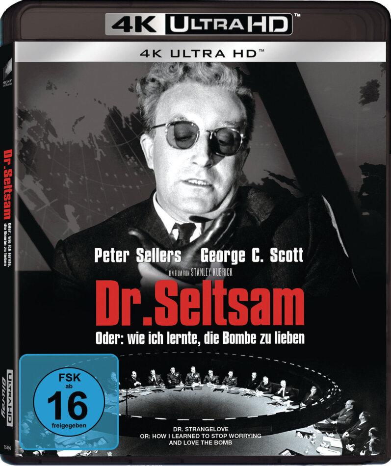 Dr. Seltsam oder wie ich lernte, die Bombe zu lieben (1964) (s/w)