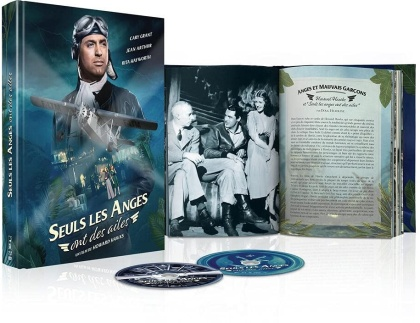Seuls les anges ont des ailes (1939) (s/w, Limited Edition, Mediabook, Blu-ray + DVD)