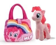 My Little Pony Plush – Friendship is Magic - Rainbow Dash incl. Hand Bag (25cm)