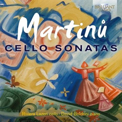 Bohuslav Martinu (1890-1959), Riviera Lazeri & David Boldrini - Cello Sonatas