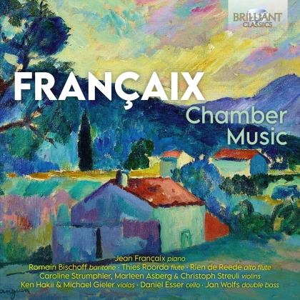 Jean Francaix, Thies Roorda, Rien De Reede & Jean Françaix (1912-1997) - Chamber Music
