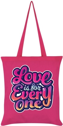 Love is for Everyone - Hot Pink Tote Bag