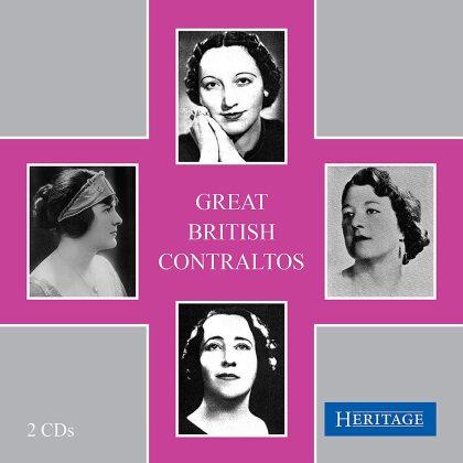 Great British Contraltos (2 CDs)