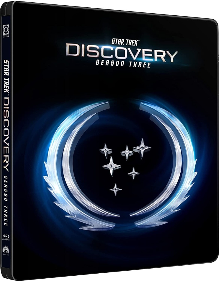 Star Trek: Discovery - Season 3 (Steelbook, 4 Blu-rays)
