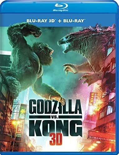 Godzilla Vs. Kong (2021) (Blu-ray 3D + Blu-ray)