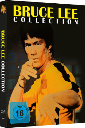 Bruce Lee Collection (Cover C, Limited Edition, Mediabook, Uncut, 4 Blu-rays)