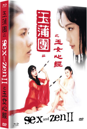 Sex and Zen 2 (1996) (Cover A, Limited Edition, Mediabook, Uncut, Blu-ray + DVD)