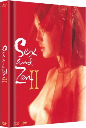 Sex and Zen 2 (1996) (Cover C, Edizione Limitata, Mediabook, Uncut, Blu-ray + DVD)