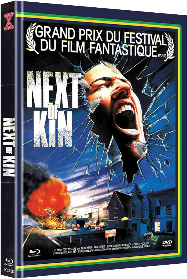 Next of Kin (1982) (Cover A, The X-Rated International Cult Collection, Edizione Limitata, Mediabook, Uncut, Blu-ray + DVD)